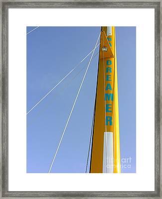 Dreamer Framed Print by Anne Gordon