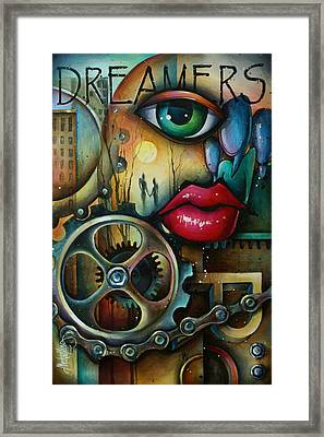 Dreamers 3 Framed Print by Michael Lang