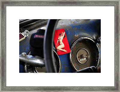 Dreaming Of Marilyn  Framed Print by David Lee Thompson