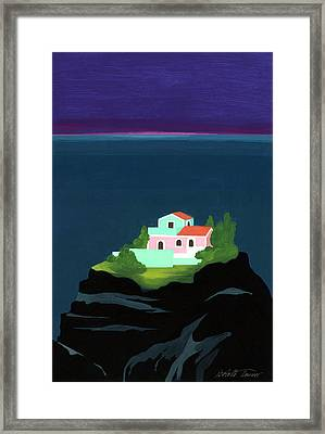 Dreaming Of Sicily Framed Print by Isabelle Tanner