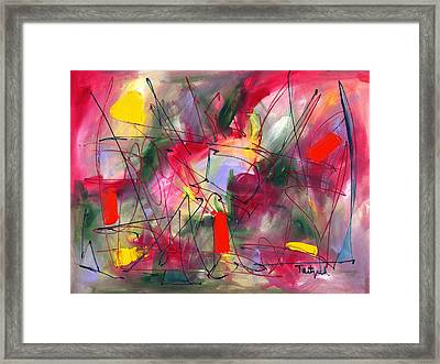 Dreams At Dawn Framed Print