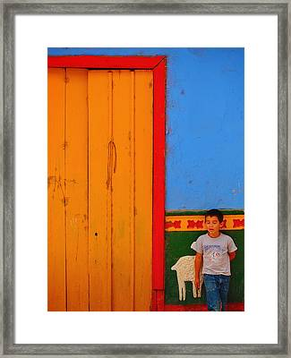 Dreams Of Kids Framed Print by Skip Hunt
