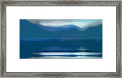 Dreams Of The Lakes Framed Print by Susan  Solak