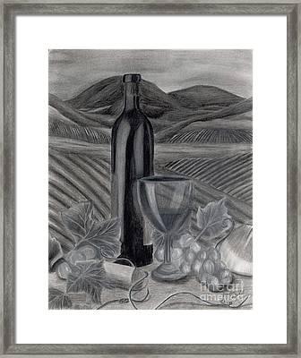 Dreams Of Tuscany Framed Print by Jennifer LaBombard