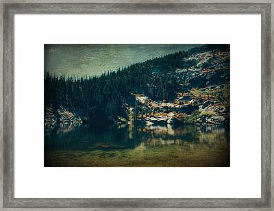 Dreams That Die Framed Print by Laurie Search