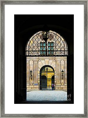 Dreams Within Dream Framed Print