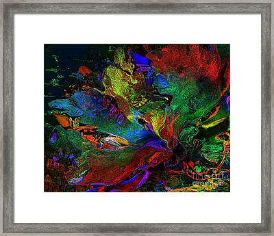 Dreamscape Abstract Number Five Framed Print by Doris Wood