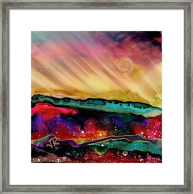 Dreamscape No. 190 Framed Print by June Rollins