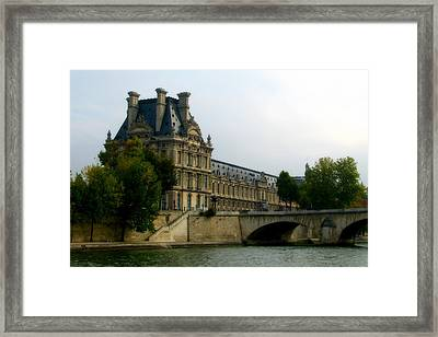 Dreamy Paris Framed Print by Carla Parris