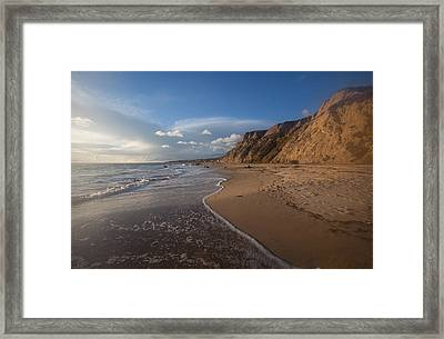 Dreamy Seascape  Crystal Cove State Beach Framed Print by Cliff Wassmann
