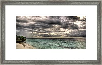 Framed Print featuring the photograph Dreamy Seaside by Andrea Barbieri