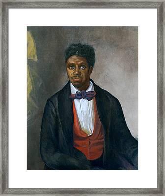 Dred Scott 1799-1858, An Enslaved Man Framed Print by Everett