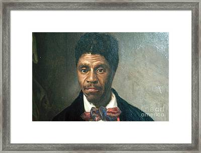 Dred Scott, African-american Hero Framed Print by Photo Researchers