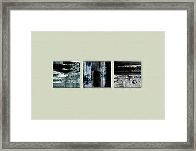 Drei Framed Print by Chad Rice