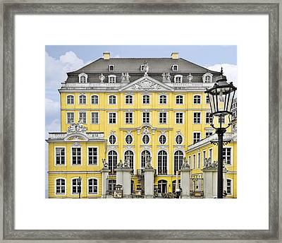 Dresden Taschenberg Palace - Celebrate Love While It Lasts Framed Print