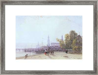 Dresden Framed Print by William Wyld