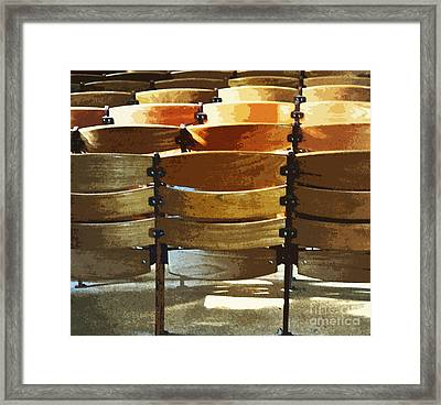Dress Rehearsal Framed Print by Gwyn Newcombe
