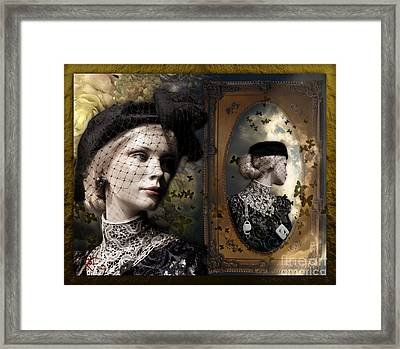Dressed Up For A  Dream Framed Print by Rosa Cobos