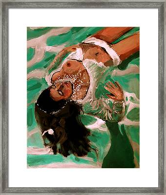 Drifting Framed Print by Adam Kissel