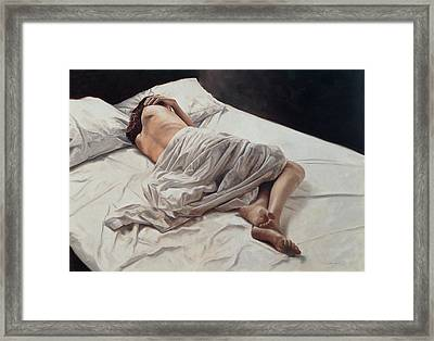Drifting  Framed Print by John Worthington