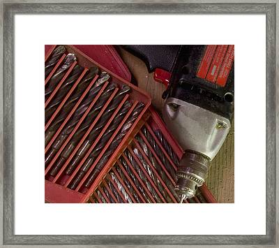 Framed Print featuring the photograph Drill Baby . . . by Michael Friedman