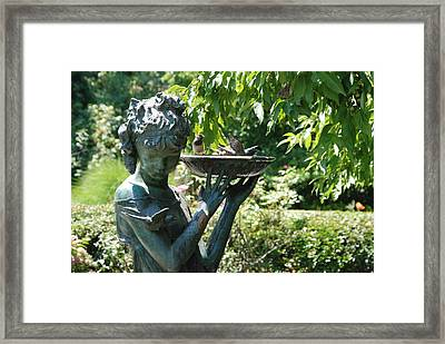 Drink My Water  Framed Print by Orlando Pena