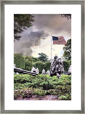 Drive On Framed Print by JC Findley