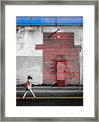 Drive Framed Print by Skip Hunt