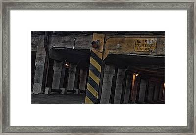Drive Through Framed Print by William Jones