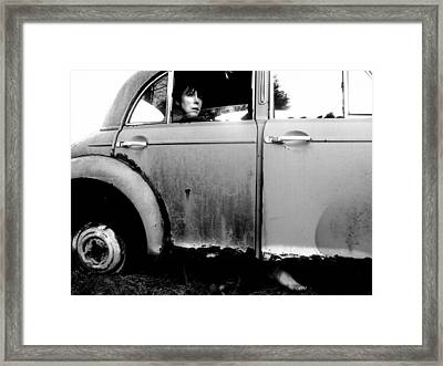 Driven Framed Print by Eleanor Bennett