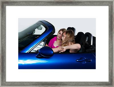 Driving Framed Print by Jim Boardman