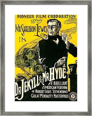 Dr.jekyll & Mr. Hyde, Sheldon Lewis Framed Print by Everett