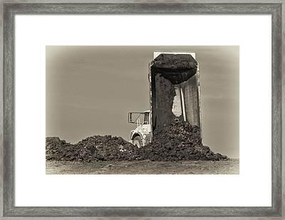 Drop Off Framed Print by Patrick M Lynch