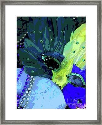 Drop The Mask Princess Framed Print by Joe Jake Pratt