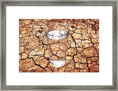 Drought Framed Print by Victor De Schwanberg