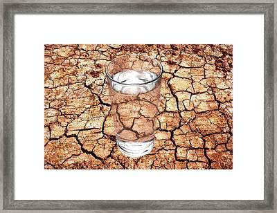Drought Framed Print by Victor De Schwanberg