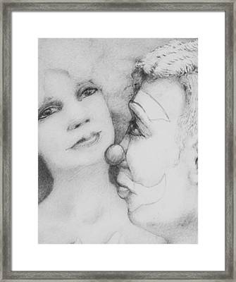 Drowning Muse Framed Print