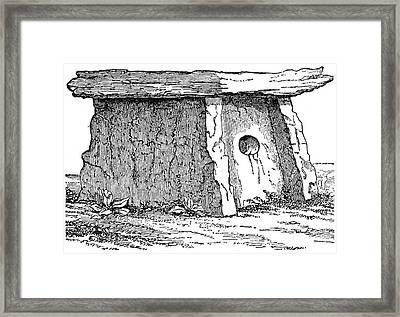 Druidic Megalith Framed Print by Granger