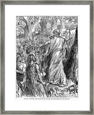 Druids Framed Print by Granger