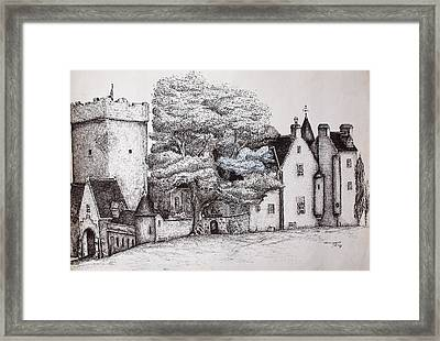 Drum Castle Framed Print