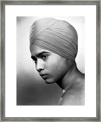 Drums, Sabu, 1938 Framed Print