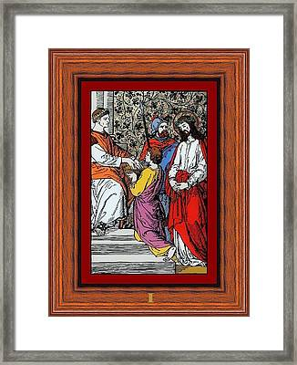 Drumul Crucii - Stations Of The Cross  Framed Print