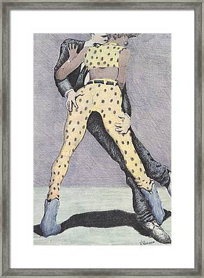 Drunksuits Framed Print by Vincent Randlett III