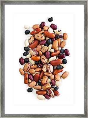 Dry Beans Framed Print