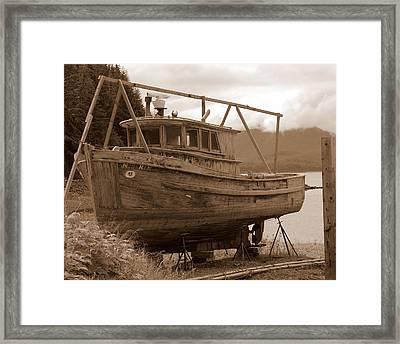 Dry Dock Framed Print by Al Cash
