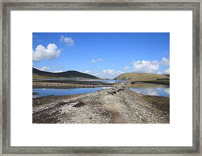 Dry Reservoir Framed Print by Stephen Kennedy