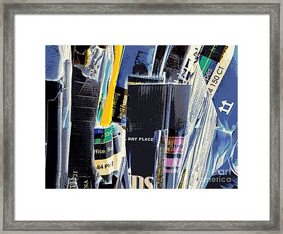 Dry Storage Framed Print by Joe Jake Pratt