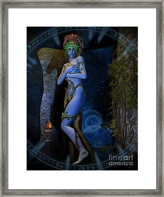 Dryad Aurya Framed Print