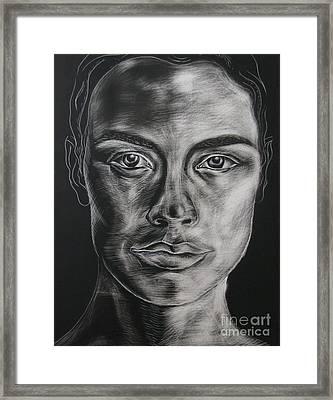 Duality Framed Print by Iglika Milcheva-Godfrey
