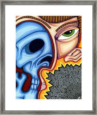 Duality Framed Print by Jason Hawn